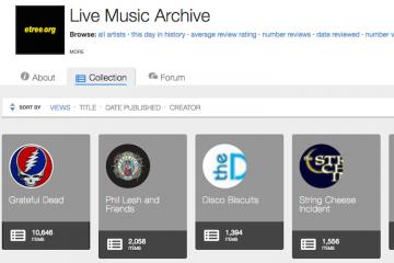 archive concerts à regarder et écouter gratuitement