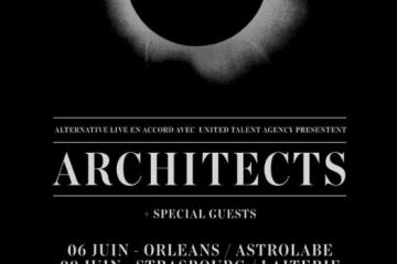 architects tournée fr 2017