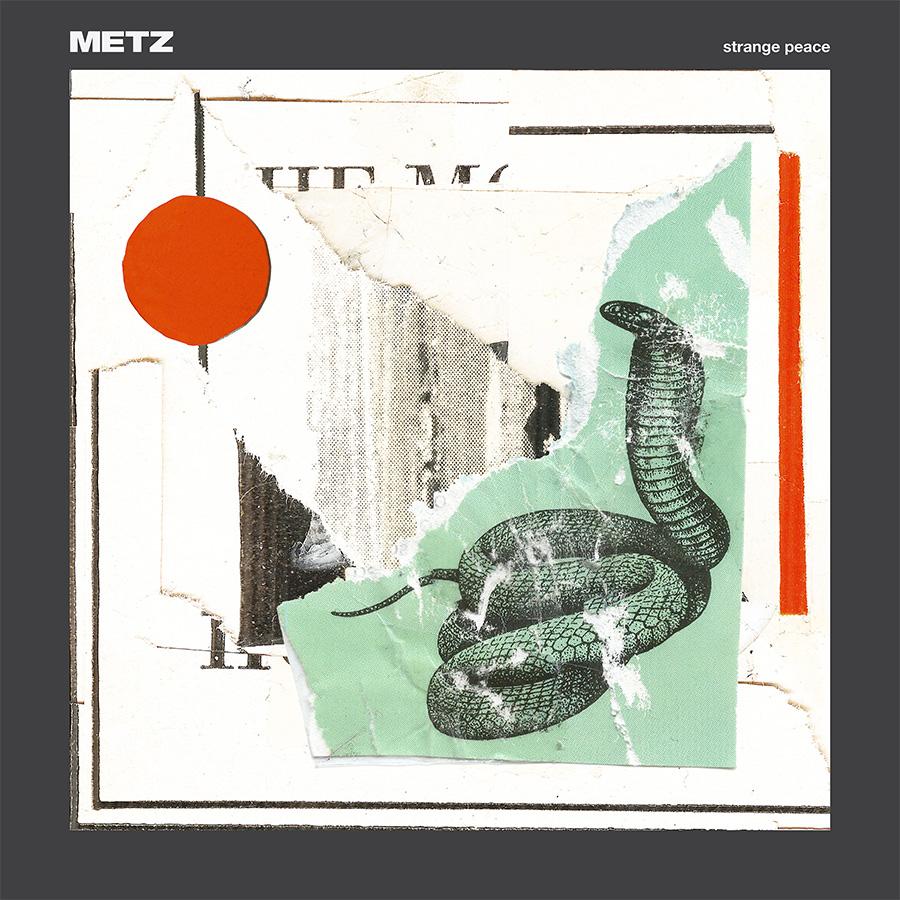 metz strange peace cover nouvel album